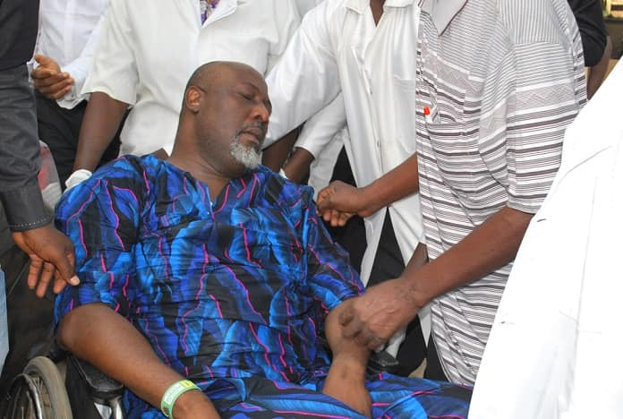 Photo of Dino Melaye Is Pretending To Be Ill, All Tests Is Negative – Police