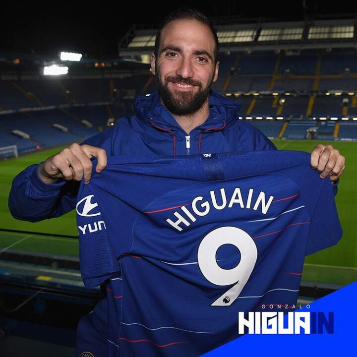 Photo of Chelsea Signing Striker Gonzalo Higuain From Juventus