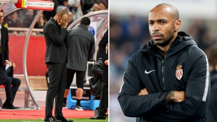 Photo of Monaco Coach, Thierry Henry, Suspended