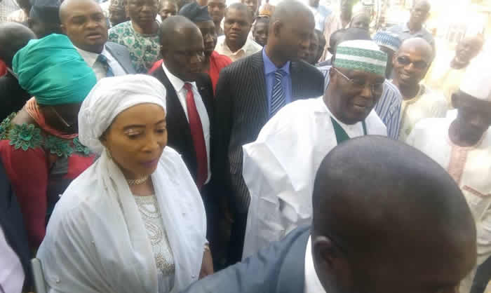 Photo of Nigeria Decides: Atiku,Wife Vote In Yola