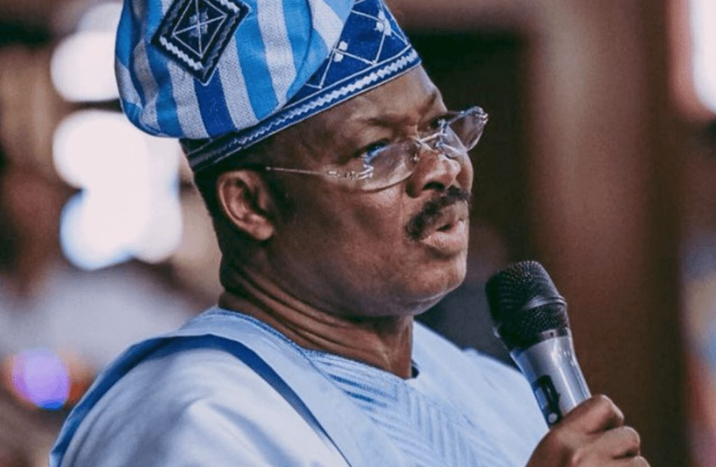 Photo of Give Oyo Minister To Younger Ones – Ajimobi Advise Buhari