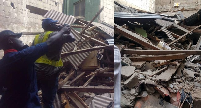 Photo of Four Rescued As Another Building Collapses In Lagos
