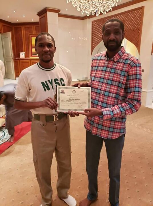 Photo of Buhari's son, Yusuf under attack over NYSC