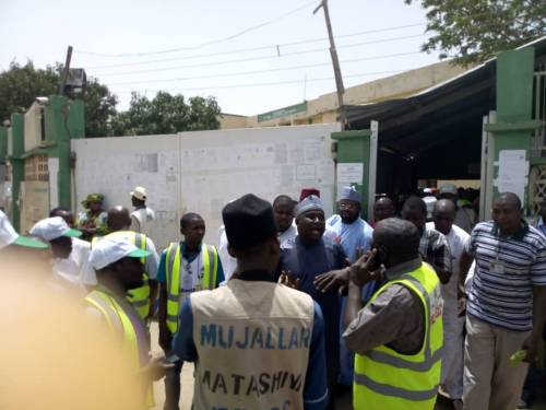 Photo of DSS, Police Begin Fresh Screening At INEC Collation Centre In Kano