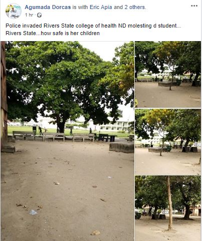 Photo of Police Storm Rivers State College Of Health Port-Harcourt, Arrest Students