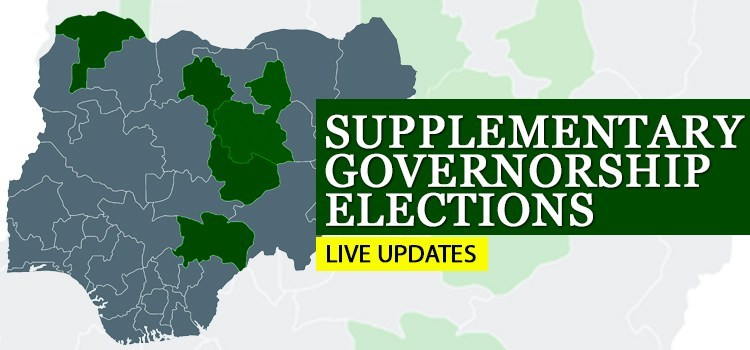 Photo of Live Updates: Supplementary Governorship Elections In Five States