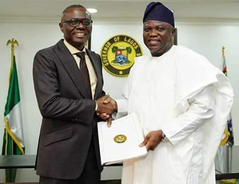 Photo of Ambode Ignores Tinubu, Gives Special Recognition To Buhari, Osinbajo on Farewell Broadcast