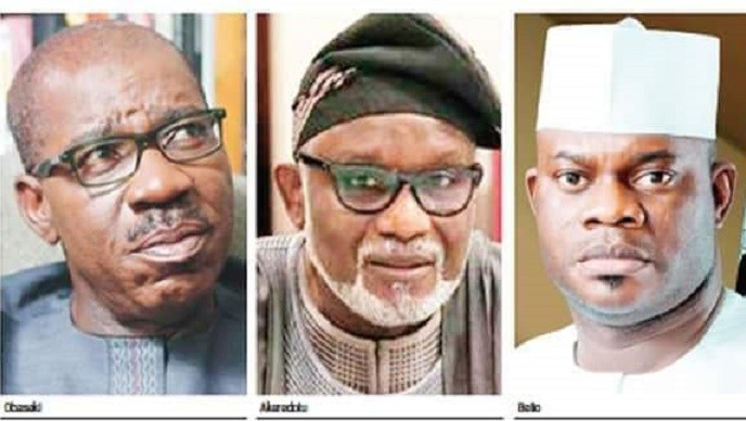 Photo of Second Term Tickets: Plots Against, Yahaya Bello, Obaseki, Akeredolu Thicken