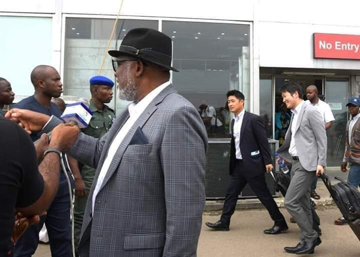 Photo of Akeredolu Returns From Thailand, Frowns At Illegal Cultivation Of Cannabis