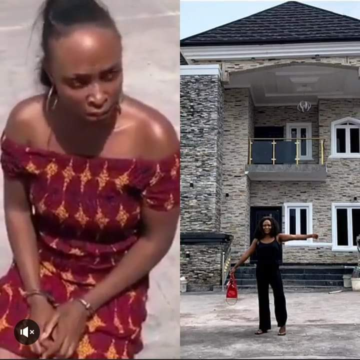 Photo of Police Arrests Nigerian blogger, Blessing Okoro (BOM) For Claiming Man's House Ownership