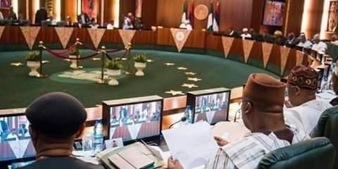 Buhari at FEC