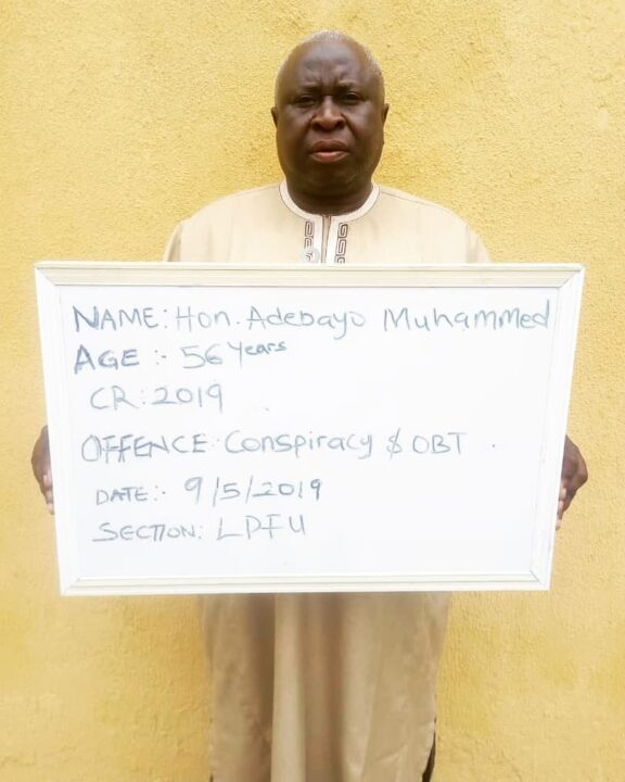Photo of EFCC Arrests Lawmaker Over N4M Land Scam