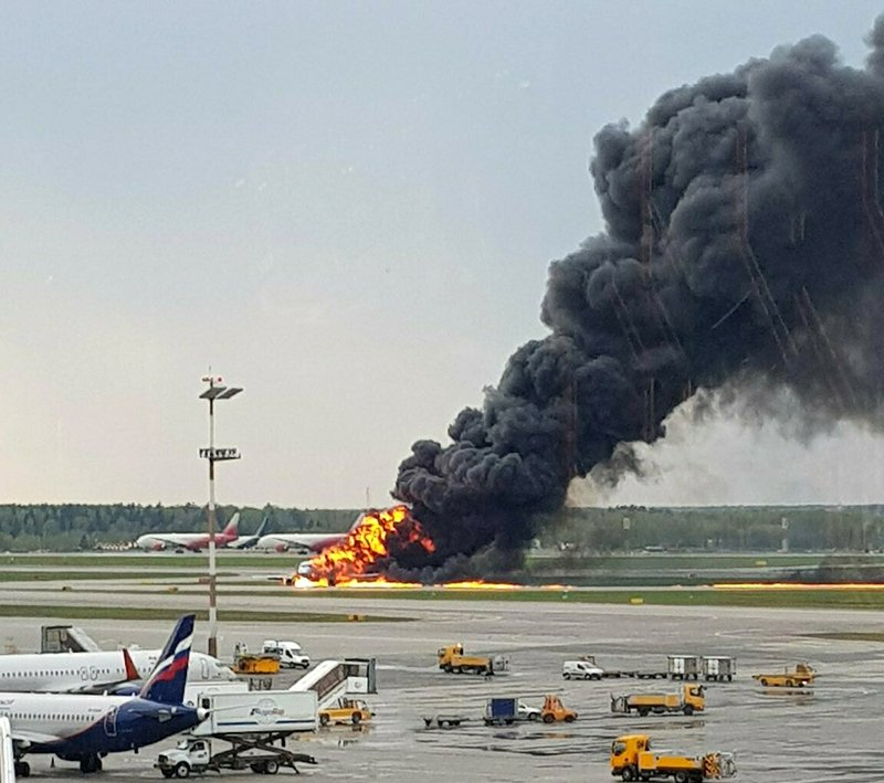 Photo of 41 Killed As Russian Plane Catches Fire