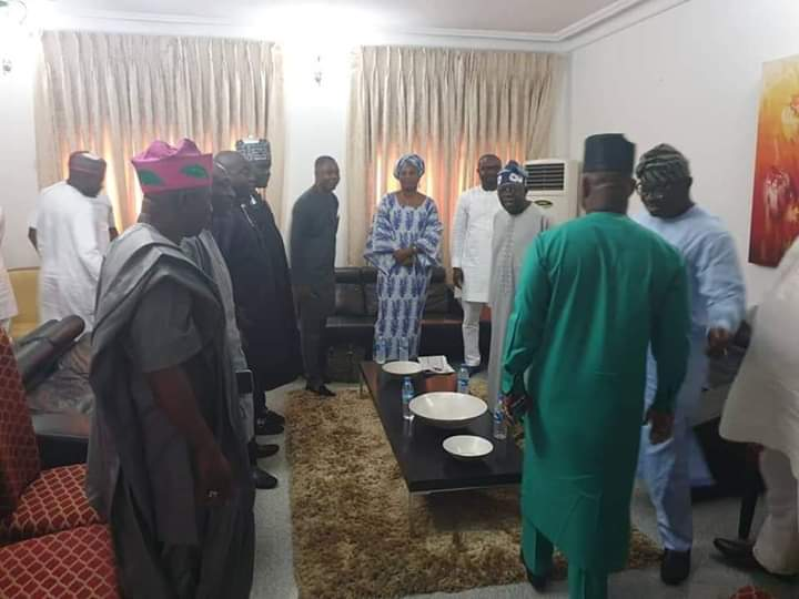 Photo of Yahaya Bello Meets Tinubu Over Second Term Bid