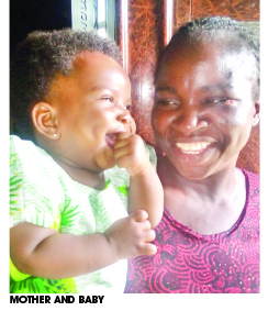 Photo of Woman Gives Birth To A Baby After 10 Years Of Pregnancy
