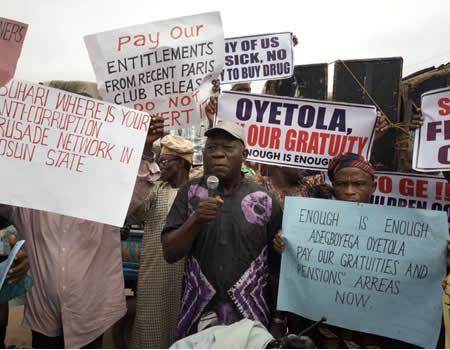 Photo of Osun Retirees Protest Over 15 Months Unpaid Pension Arrears