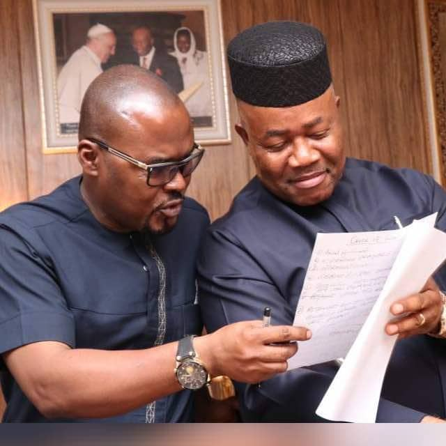 Photo of I Didn't Vote For Senator Akpabio – Aide Confesses To Tribunal
