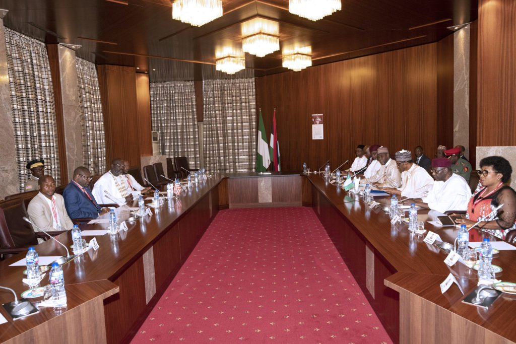 Photo of Ministerial List: Buhari Meets APC Governors In Aso Rock