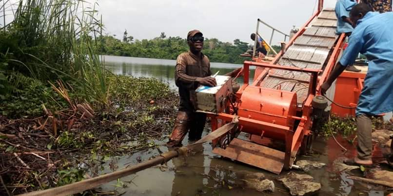 Photo of FUTA Professor Develop Water HYACINTH Harvester
