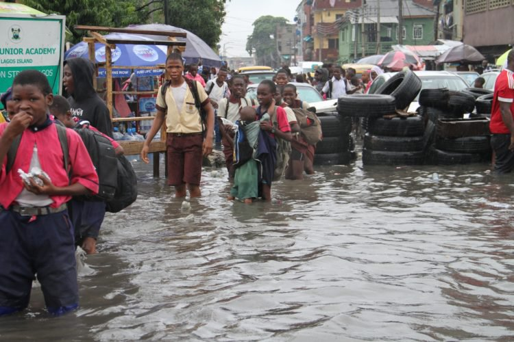 Photo of PHOTONEWS: Floods Takes Over Lagos After Heavy Rainfall