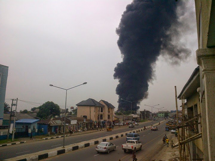 Photo of One dead, many injured as explosion rocks Popular Shopping Mall in Rivers