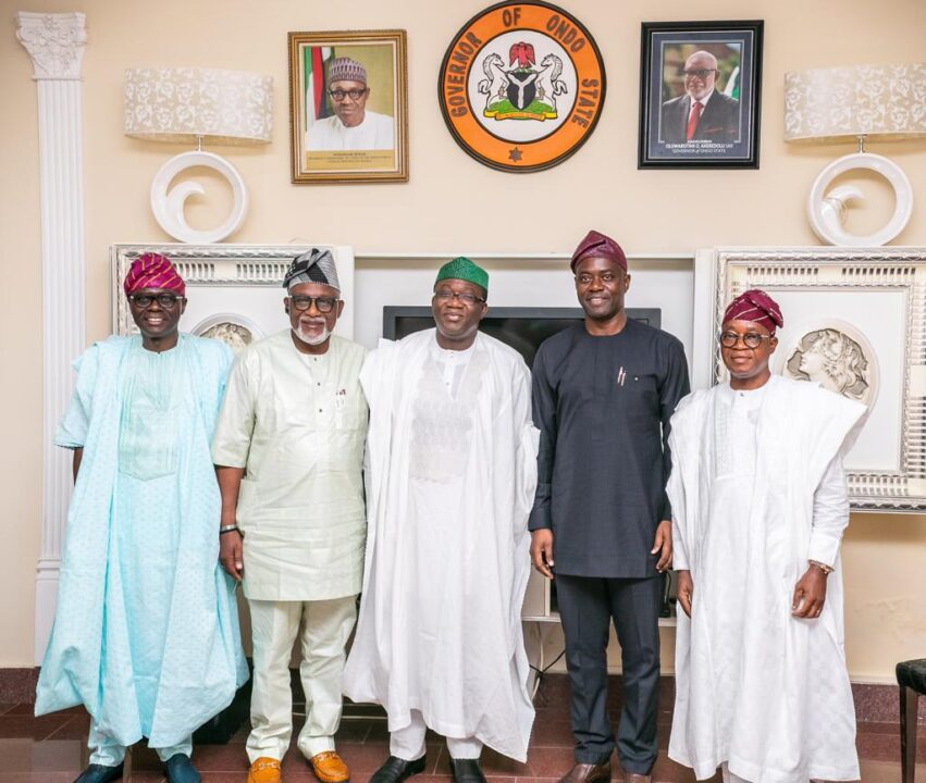 Photo of Akeredolu Emerges Chairman South West Governors' Forum