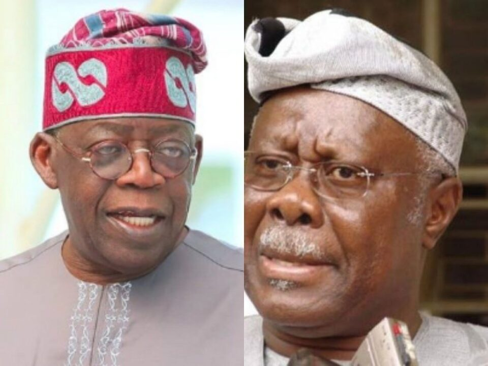 Photo of 2023: Tinubu Not Qualified To Become Nigeria's President- Bode George
