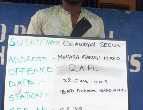 Photo of Police Arrest Man Who Raped 16-year-old Girl