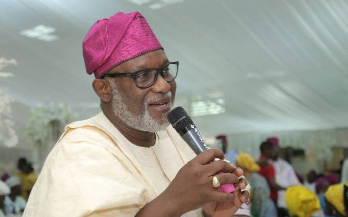 Photo of Akeredolu speaks on missing child at Sotitobire church in Akure