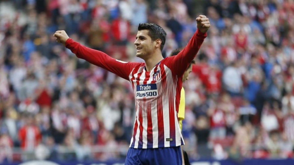 Photo of Atletico Madrid Signs Morata Permanently From Chelsea