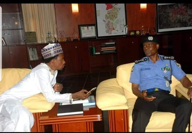 Photo of Police Reacts To Trending Picture Of Senator Abbo, IGP