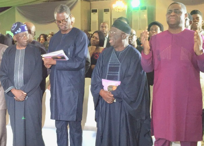 Photo of Tinubu, Gbaja, Fani-Kayode Attend Night Of Tributes For Fasoranti's Daughter