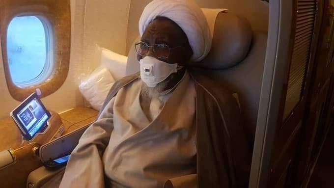 PHOTOS: El-Zakzaky Finally Departs To India For Medical Treatment