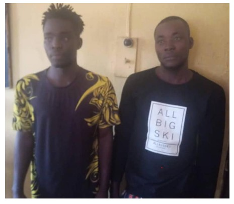 Photo of Two Men Arrested For Generating Fake Bank Alerts