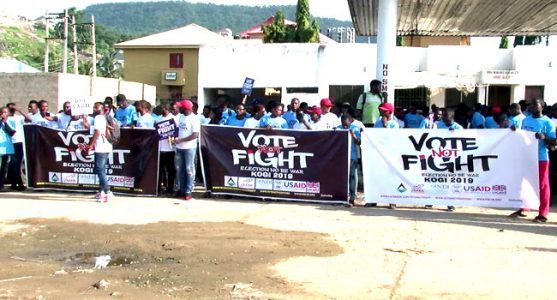 Photo of Kogi Guber: Youths Protest, Demand Peaceful Governorship Election