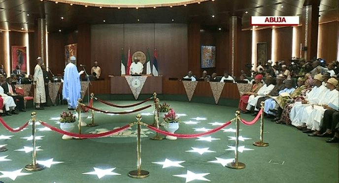 Photo of VIDEO: Live Updates: Buhari Swears-In Ministers