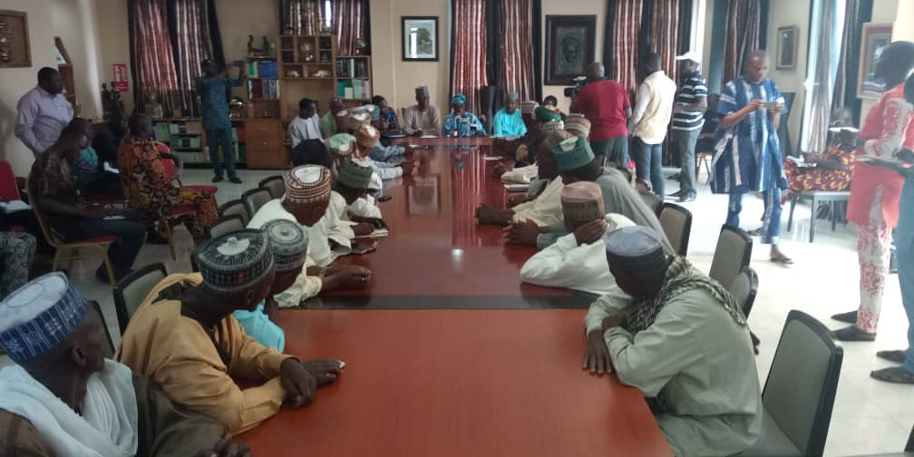 Photo of PHOTOS: Obasanjo Meets With Fulani Group