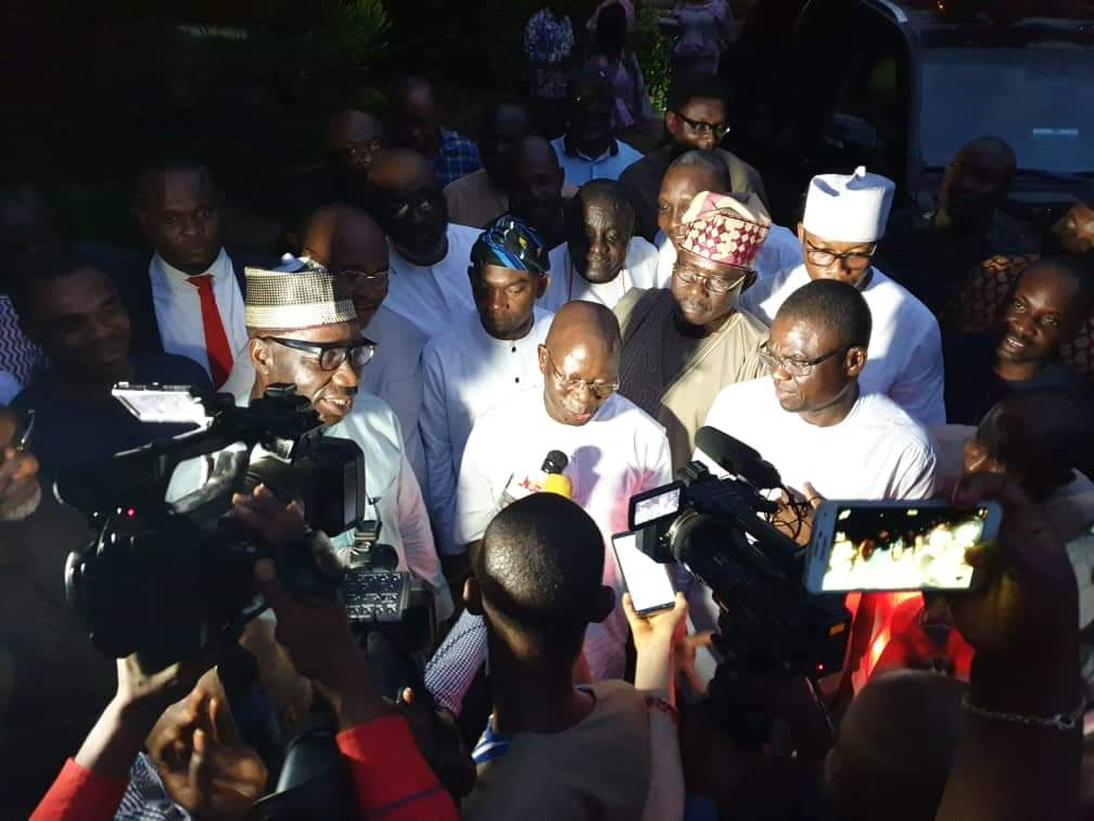 Photo of Edo Crisis: Suprise As Obaseki Pays Unscheduled Visit To Oshiomhole