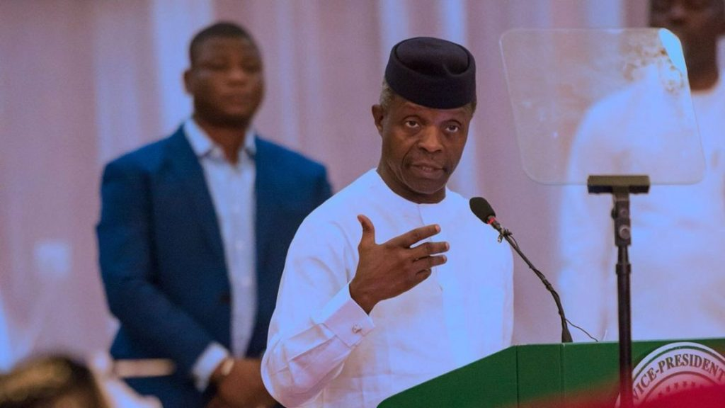 Photo of Join APC before you die,so that you can see Jesus – Osinbajo tells PDP leaders