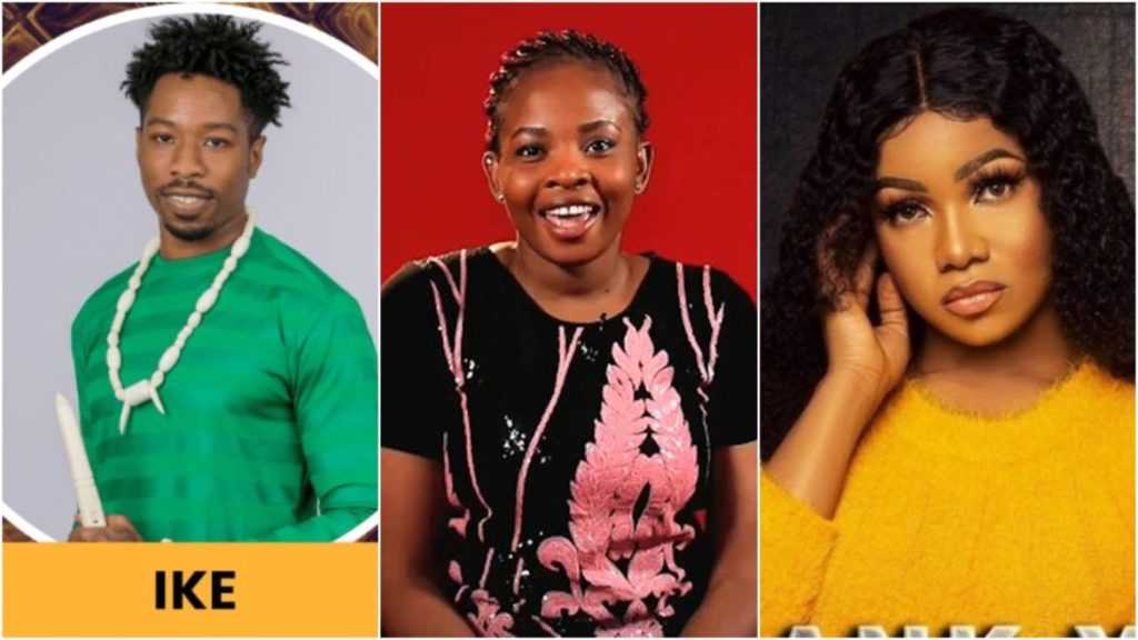 Photo of Tacha, Ike, 7 other housemates up for eviction