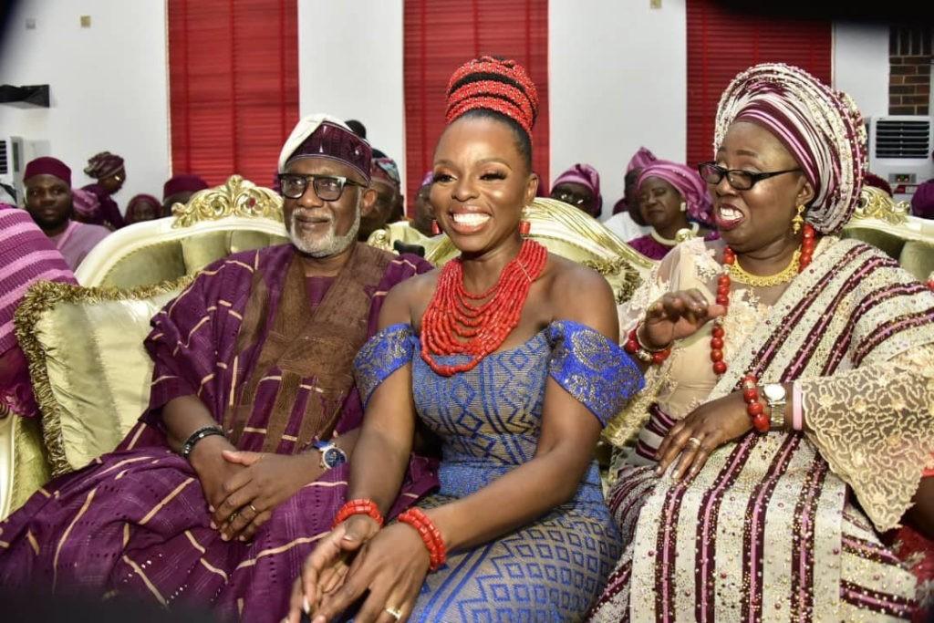 PHOTOS: Akeredolu's Daughter's Wedding