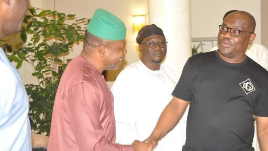 Photo of Wike, PDP governors in closed-door meeting in Rivers