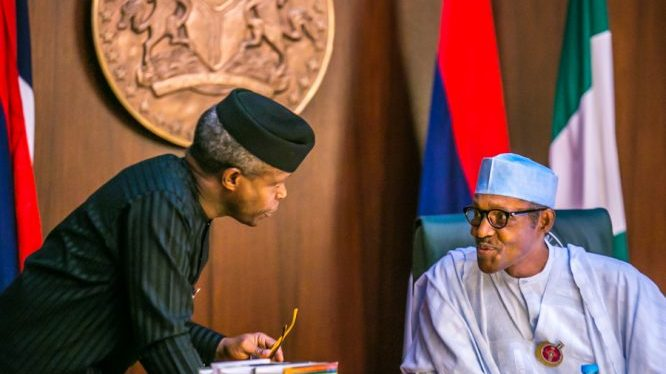 Photo of Trip: Nigerian Constitution Does Not Mandate Me To Hand Over To Osinbajo – Buhari