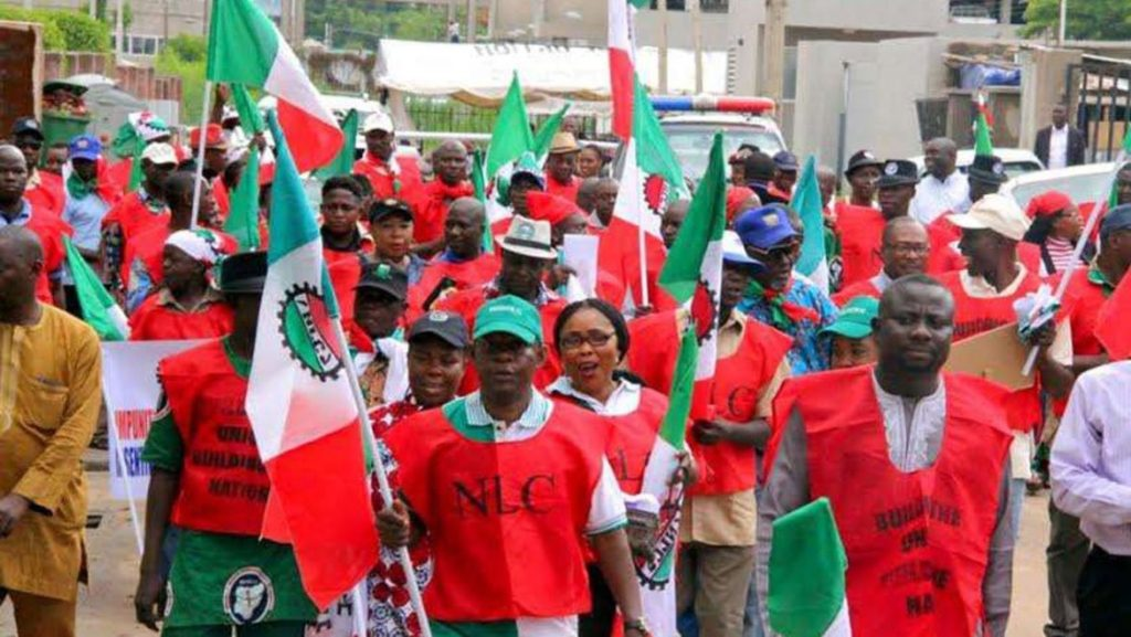 New Minimum Wage: NLC threatens strike warns Buhari over delay implementation