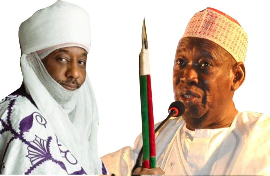 Photo of Ganduje gives Sanusi 48-hour to accept chairmanship appointment, or else…