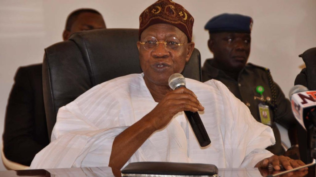 Photo of Hate Speech Online Media Will Start Paying N5m Fine – Lai Mohammed