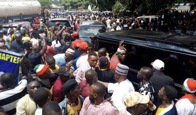 Photo of VIDEO: Kogi Election: Lokoja Agog As PDP Holds Rally, APC Kicks