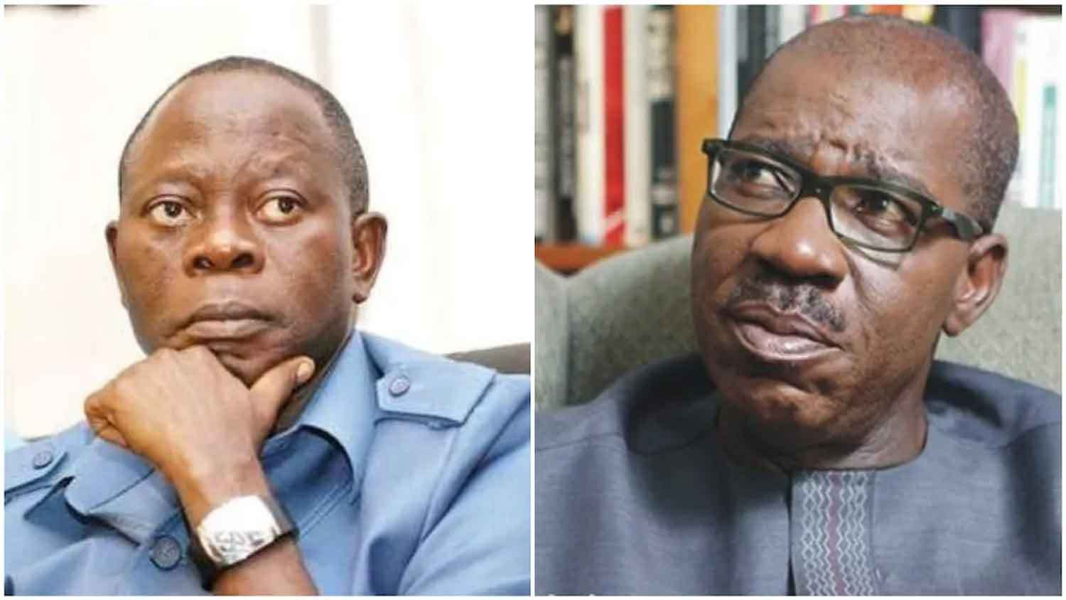 Photo of BREAKING: Crisis Hits Edo As Obaseki's Aides Arrested, Oshiomhole Loses Grip APC Structure