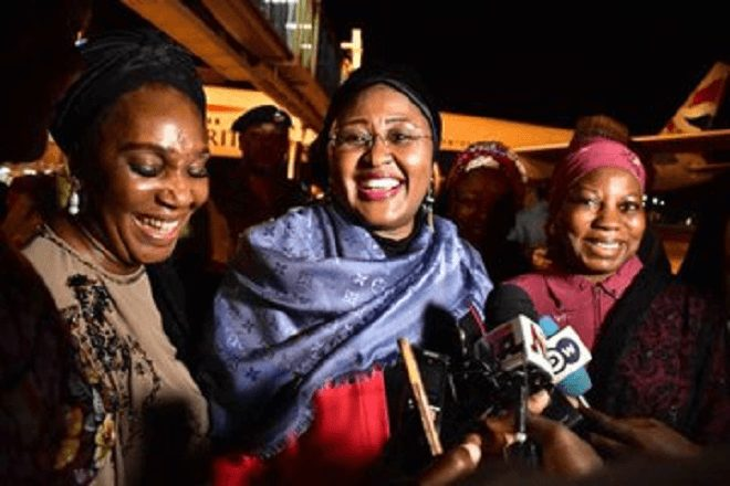Photo of VIDEO: Aisha Buhari Attacked Us Inside Aso Rock – Mamman Daura's Daughter