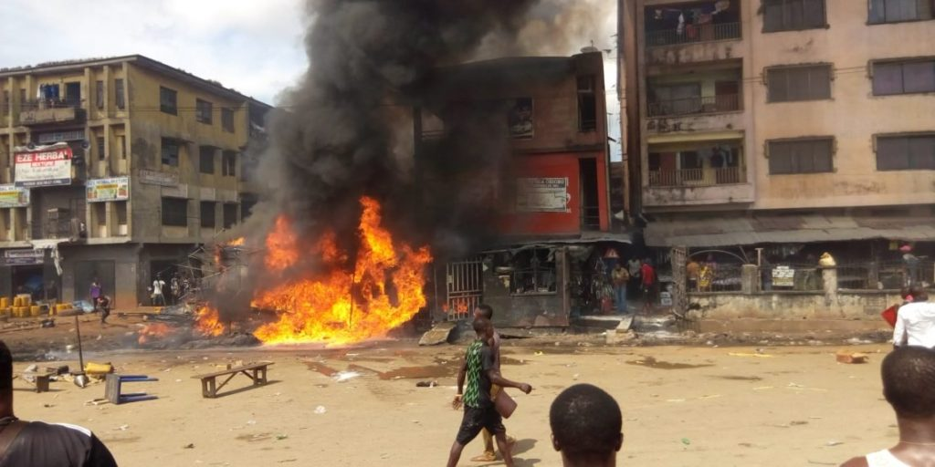 Photo of Tanker Explosion Rocks Onitsha, Mother, Child Burnt To Ashes